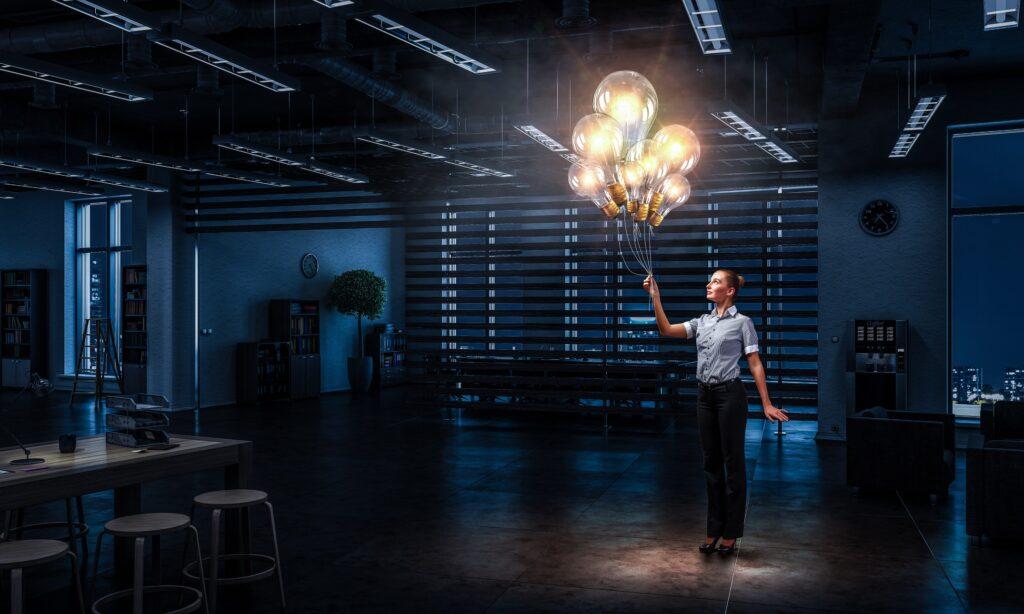 オフィスの照明をオシャレ照明に変えるコツ!