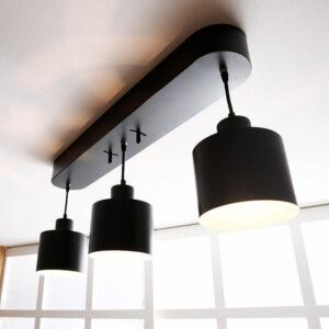 ペンダントライト LED電球対応 ダイニング スチール [3灯]
